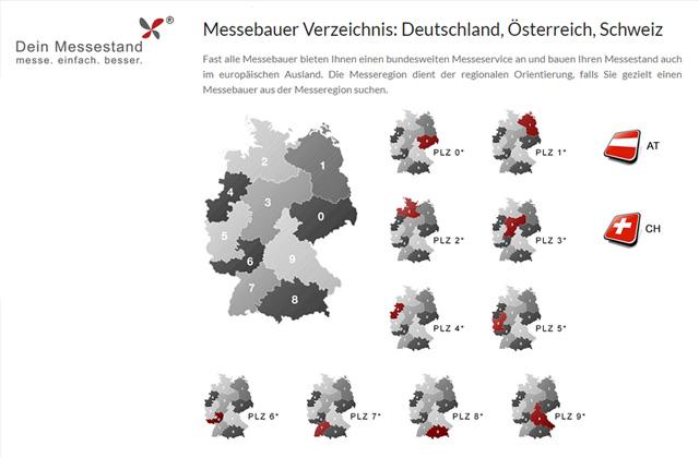 Messebauer-Verzeichnis von Dein Messestand